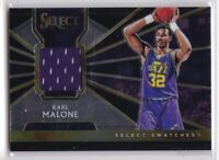 2018-19 Karl Malone Panini Select Basketball Jersey Card