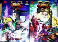 Street Fighter V: TPB Graphic Novels volumes 1&2 (Random Select, Rise Up)