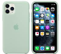 Coque iphone 11 vert paillette