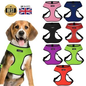 OneUP Dog Puppy Harness Soft Adjustable Mesh Breathable Comfortable Vest