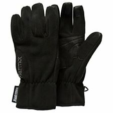NWT WOMENS MARMOT WINDSTOPPER GLOVES $50 L Black