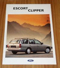 Dépliant FORD ESCORT 5 Clipper de 1993