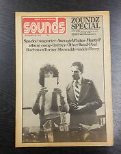 Sounds Magazine feat Average Whites, Monty P & More! December 28th 1974