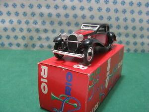 Vintage - Bugatti mod.T50 5000cc. 1932 - 1/43 Rio N°48 mint en Boîte