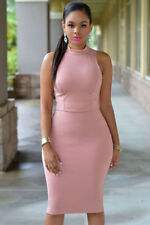 Unbranded Pink Sleeveless Dresses for Women