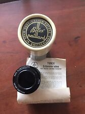 BOLEX H16 C MOUNT TUBEX MACRO CINEMATOGRAPHY EXTENSION TUBE INSTRUCTIONS BOX40mm