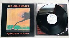 """DISQUE VINYLE 33T LP MUSIQUE/ THE ICICLE WORK """"PERMANENT DAMAGE"""" 1990 INDIE ROCK"""