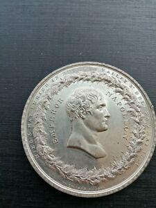 1821 Death & Burial of Napoleon on St. Helena Medal, by Thomason & Jones