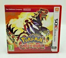 Pokémon Omega Rubin Nintendo 3DS Sehr gut OVP ohne Anleitung Deutsch