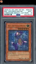 1st Ed Iris, The Earth Mother Ultimate Rare Yu-Gi-Oh! Card CDIP-EN025 PSA 9 MINT