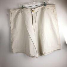 Mens KnightsBridge Size 48 Shorts Beige 100% Cotton 6 Pockets