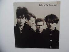 1987 Echo & The Bunnymen Album Flat Record Store Poster Sign Vintage Original