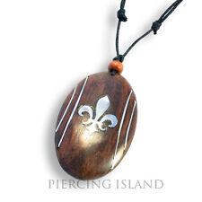 Halskette Holz Anhänger Kette Necklace Celtic Gothic LARP Design N180
