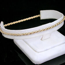 "11"" Ladies 2mm Round ROPE Chain Link 14k Gold Layered Anklet  LIFETIME GUARANTEE"
