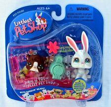 Littlest Pet Shop 1st 80 Pets BUNNY lot #3 GUINEA PIG #4 SUPER RARE! Retired NIB
