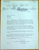 Studebaker Wagon 1916 Letterhead - Denver, CO - Car/Automobile/Buggy