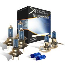 Vauxhall 55w Xenon Upgrade Main / Dipped / Fog / Side HeadLamp Light Bulbs WHITE