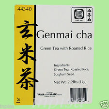GENMAICHA 4 Bags x 2.2 Lbs BROWN RICE GREEN TEA YAMAmotoYAMA