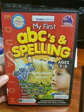 My First ABC's & Spelling ages 3-6 PC GAME - FREE POST *
