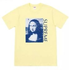 SUPREME Mona Lisa T-shirt gelb yellow M Deadstock NEU