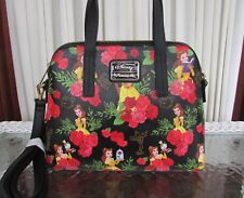 Disney Loungefly Beauty and the Beast Belle Roses Crossbody Bag Satchel NWT