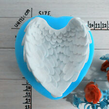 Hot Sale Angel Wings DIY Silicone Handmade Soap Candle Mold