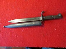 Wwi Ww1 Turkish Ottoman bayonet original German butcher blade 1905
