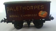 "Hornby O Gauge No 1 Private Owner Van ""Palethorpes"" Sausages excellent - unboxed"