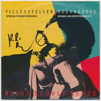 "HEINZ RUDOLF KUNZE - Fallensteller - 7"" Single - Coverhülle SIGNIERT"