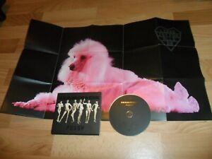 RAMMSTEIN - PUSSY (VERY RARE 2 TRACK EU DIGIPAK CD SINGLE + TWO SIDED POSTER ! )