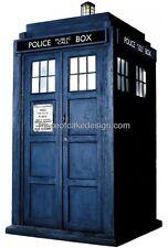 Doctor Who Tardis Solo Edible Cake Topper