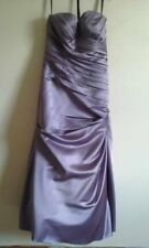 Strapless Lilac Maxi Prom Dress Size 10/12