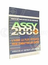 Assy 2000 Peigne à Poux Mãtal - coloris Alãatoire