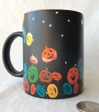 Mug Starbucks Halloween Colorful Pumpkins Jack O'Lanterns Coffee 12 oz 2007, 4""