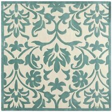 polyester floral square area rugs