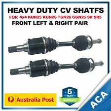 2 x CV Joint Shaft for Toyota Hilux GGN25R KUN25R KUN26R SR5 (Standard Height)