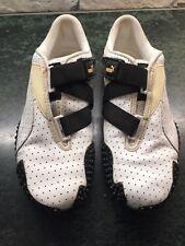 Puma Mostro Womens White / Black Leather Shoes  Size 7  U.S.