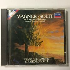 1983 WAGNER Der Ring des Nibelungen Excerpts Selection Auszuge SOLTI CD Germany