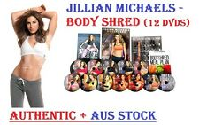 JILLIAN MICHAELS BODY SHRED 12 DVD BOXSET BRAND NEW