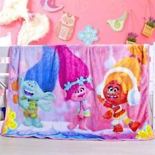 Kids Soft Mink Blanket Flannel Fabric 1 x 1.4 Meter Dreamwork Trolls
