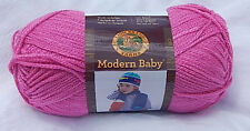 "Lion Brand ""Modern Baby"" in Pink - New & Smoke Free Home Discontinued Line"