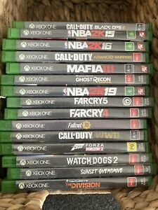 Xbox One Games (NBa, Cod, Forza , Tom Clancy, Farcry, Watch dogs)