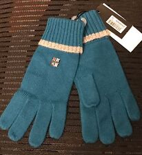 Brand New DKNY Girl's turquise Gloves Size 23