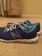 New Balance Womens Blue Sneaker Tennis Shoe 7.5