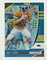 2020 Panini Prizm Draft BLUE REFRACTOR #12 BRETT FAVRE Green Bay Packers HOF