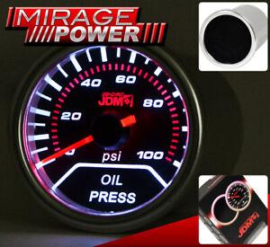 Engine Oil Pressure Meter Gauge Dial Indicator For G35 350Z 370Z 240SX S13 300ZX