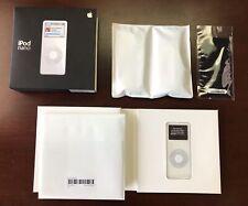 Vintage New Collectors Apple 4Gb iPod Nano White 1st Generation Ma005Ll/A