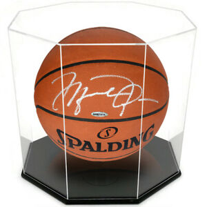 OnDisplay 5mm ACRYLIC OCTAGON BASKETBALL/SOCCER BALL DISPLAY CASE-UV PROTECTED