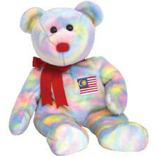 TY Beanie Buddy - WIRABEAR the Bear (Asian Pacific Exclusive) -MWMTs Stuffed Toy