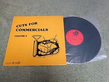 KARL JENKINS MIKE RATLEDGE cuts for commercials Volume 3 MUSIC DE WOLFE LP DWS/L